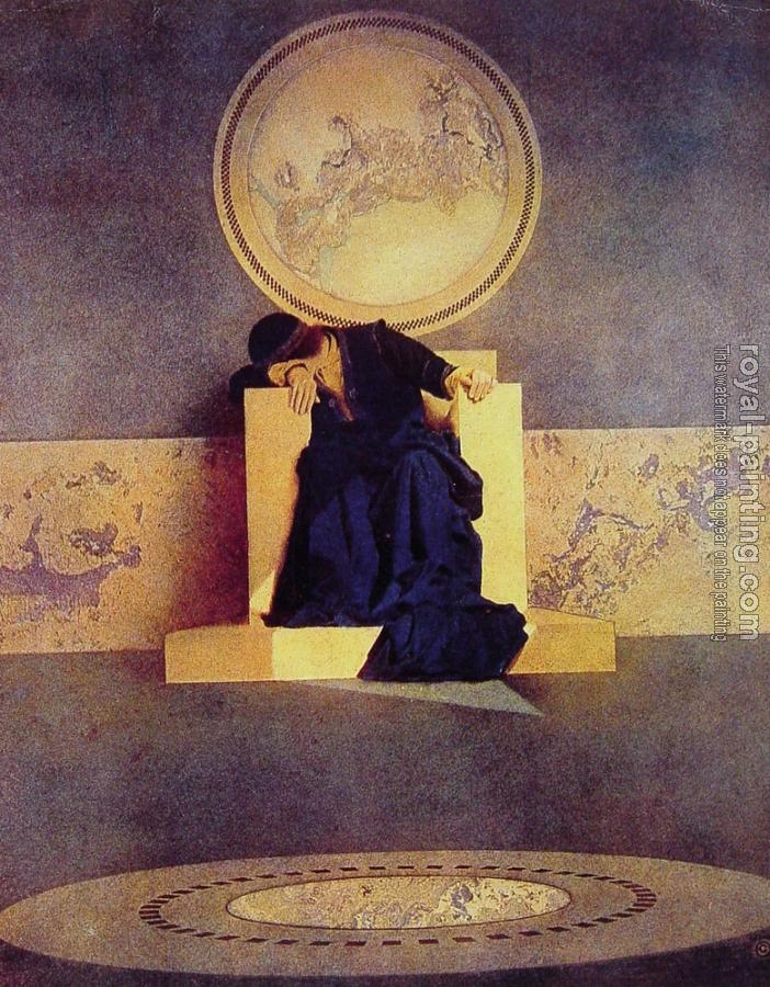 Maxfield Parrish : Young King of the Black Isles