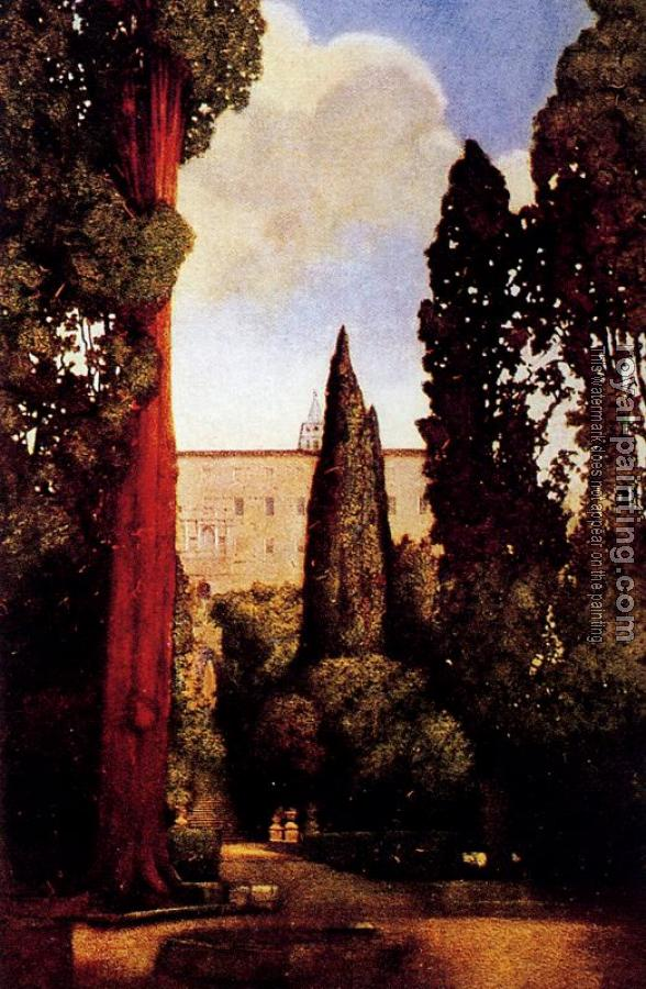 Maxfield Parrish : The Villa D'este