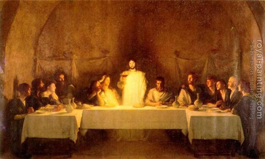 the story behind the painting of the last supper