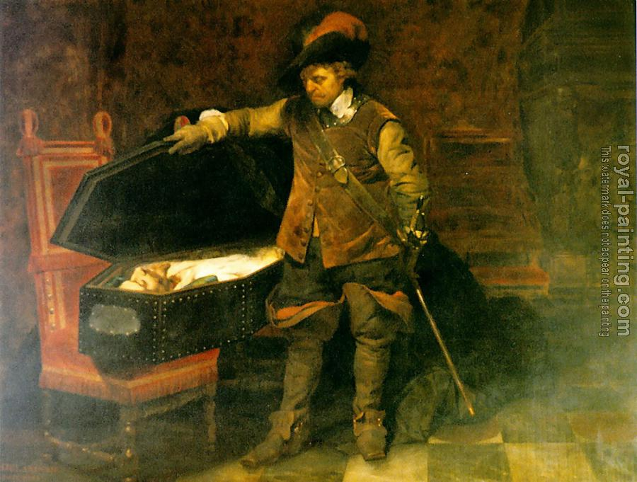 Paul Delaroche : Cromwell and Charles I