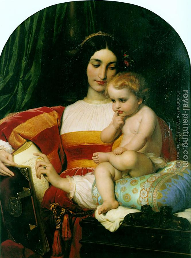 Paul Delaroche : The Childhood of Pico della Mirandola