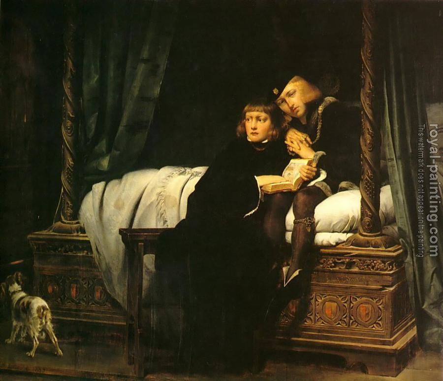 Paul Delaroche : The Princes in the Tower