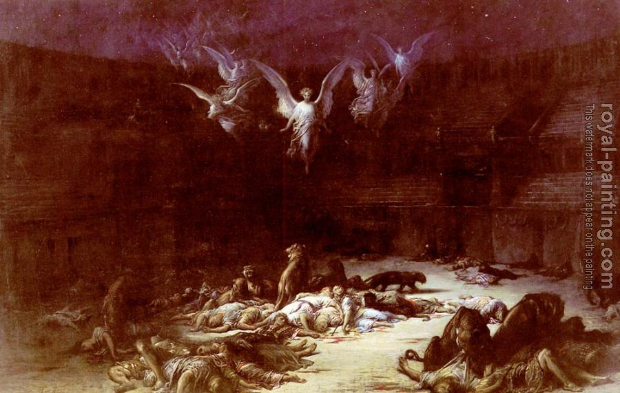 Paul Gustave Dore : The Christian Martyrs