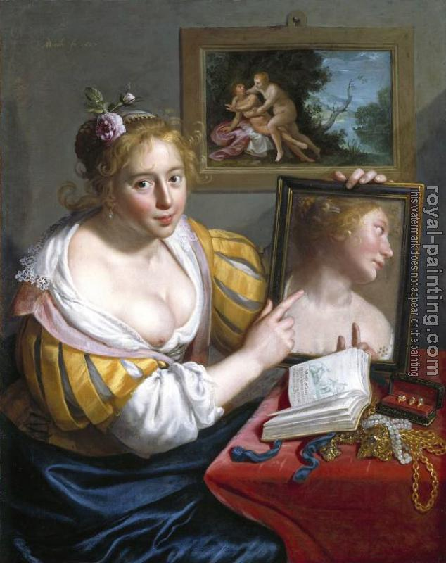 Paulus Moreelse : Mirror