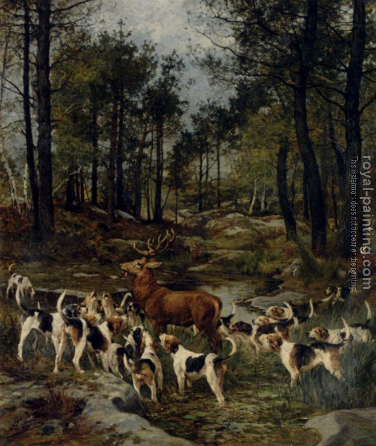 Charles Olivier De Penne : the deer hunt