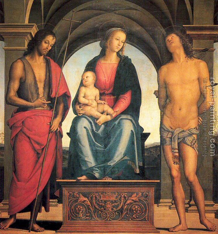 Madonna and Child with Saints John the Baptist and Sebastian