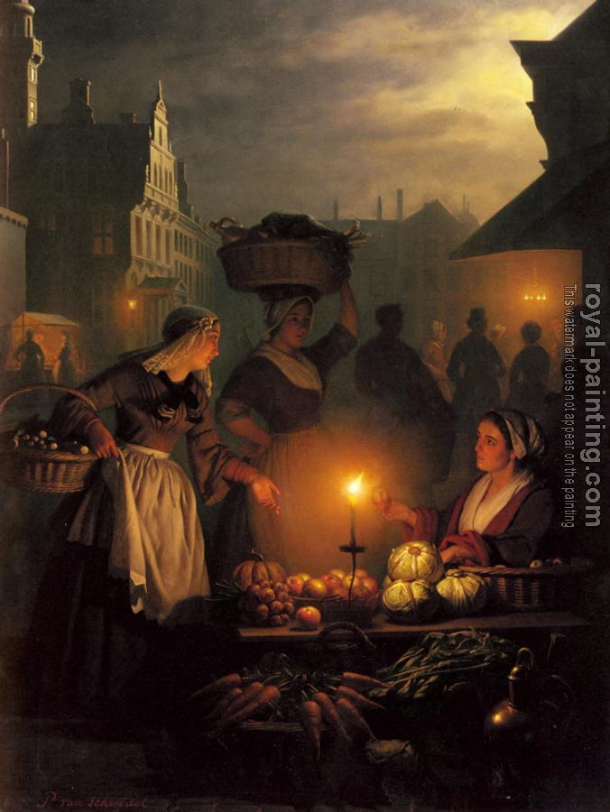 Petrus Van Schendel : The Night Market