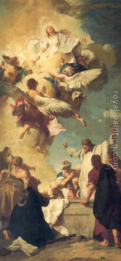 Giovanni Battista Piazzetta : The Assumption of the Virgin