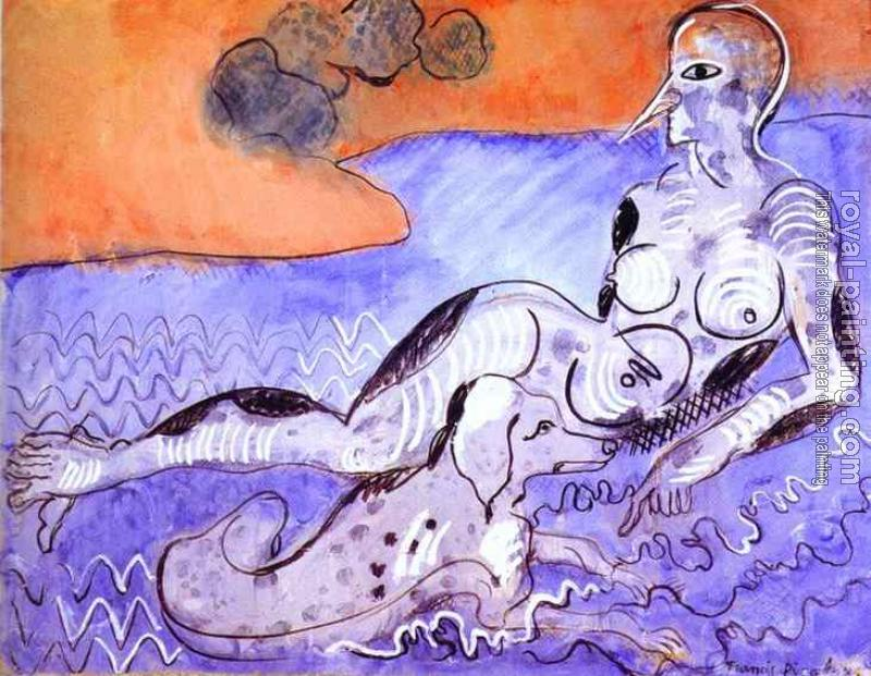 Francis Picabia : Woman with a Dog