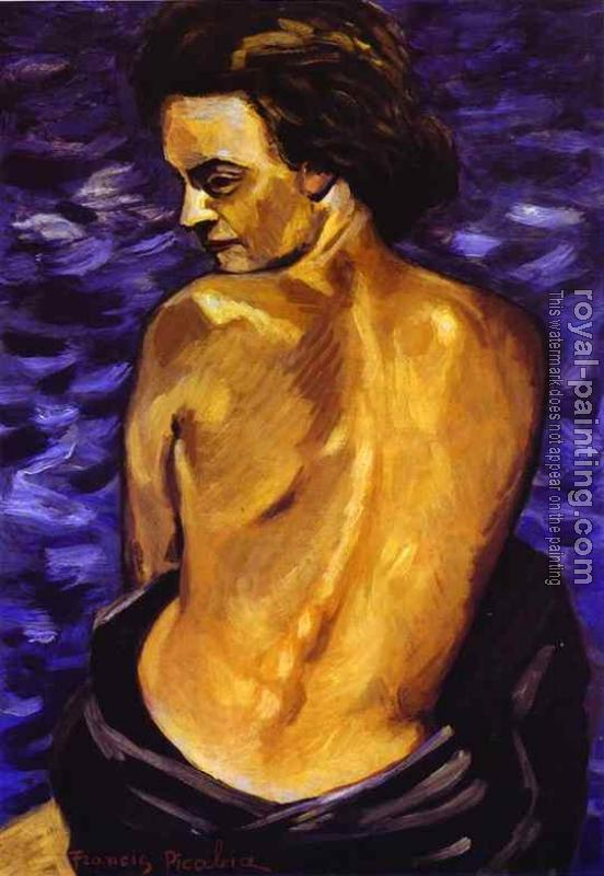 Francis Picabia : Nude from Back on a Background of the Sea