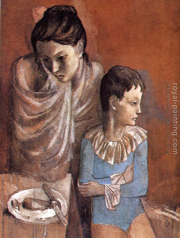 Pablo Picasso : Mother and child (Baladins)