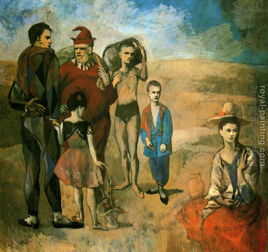 Pablo Picasso : the saltimbanques