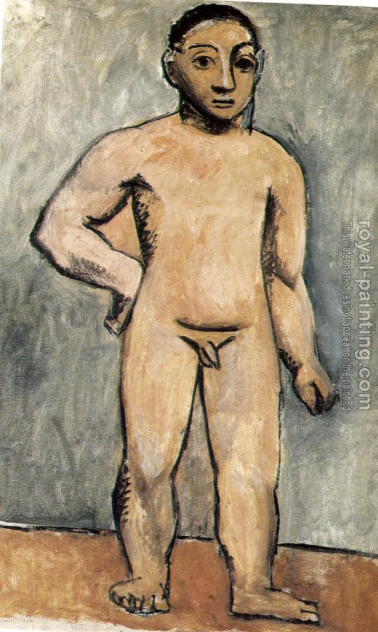 Nude Boy By Pablo Picasso