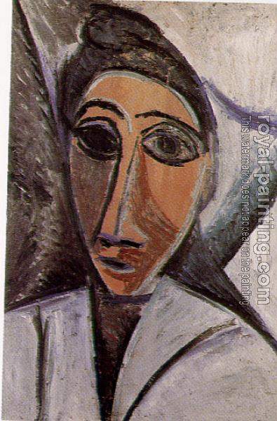 Pablo Picasso : head of a woman or a sailor