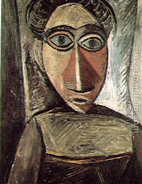 Pablo Picasso : head of a woman