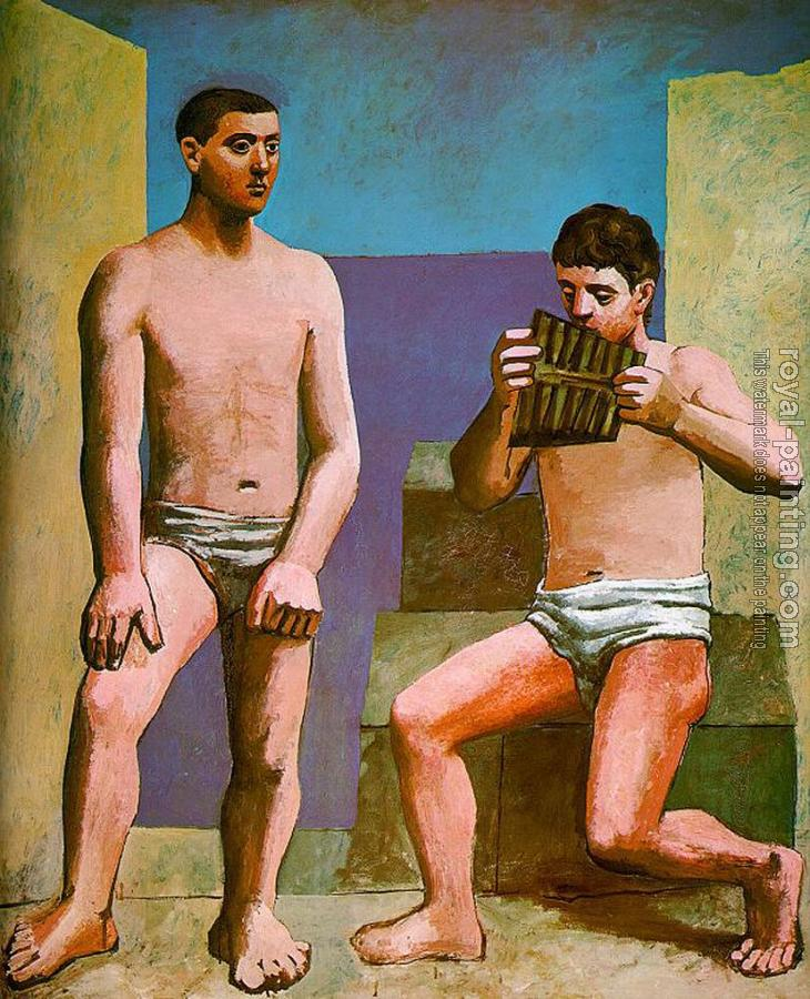 Pablo Picasso : the pan-pipes