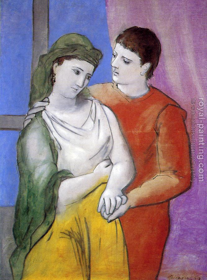 Pablo Picasso : the lovers II