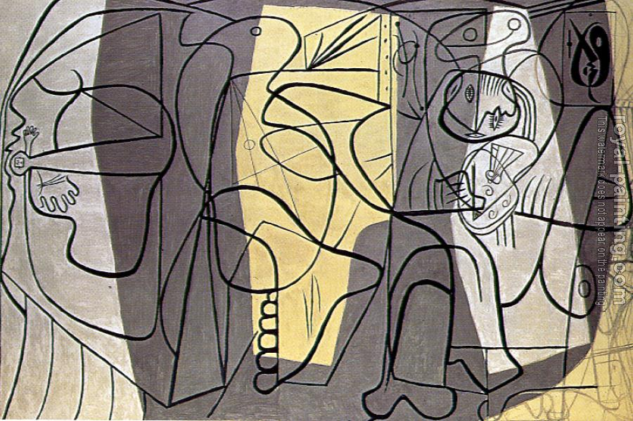 Pablo Picasso : the painter and his model II