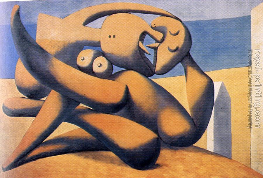 Pablo Picasso : figures by the sea