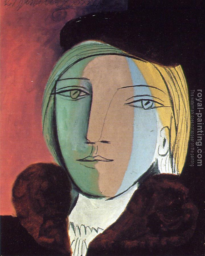 portrait of marie-therese II by Pablo Picasso | Oil Painting ...