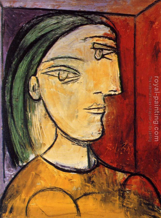 Marie therese by pablo picasso oil painting reproduction for Picasso painting names