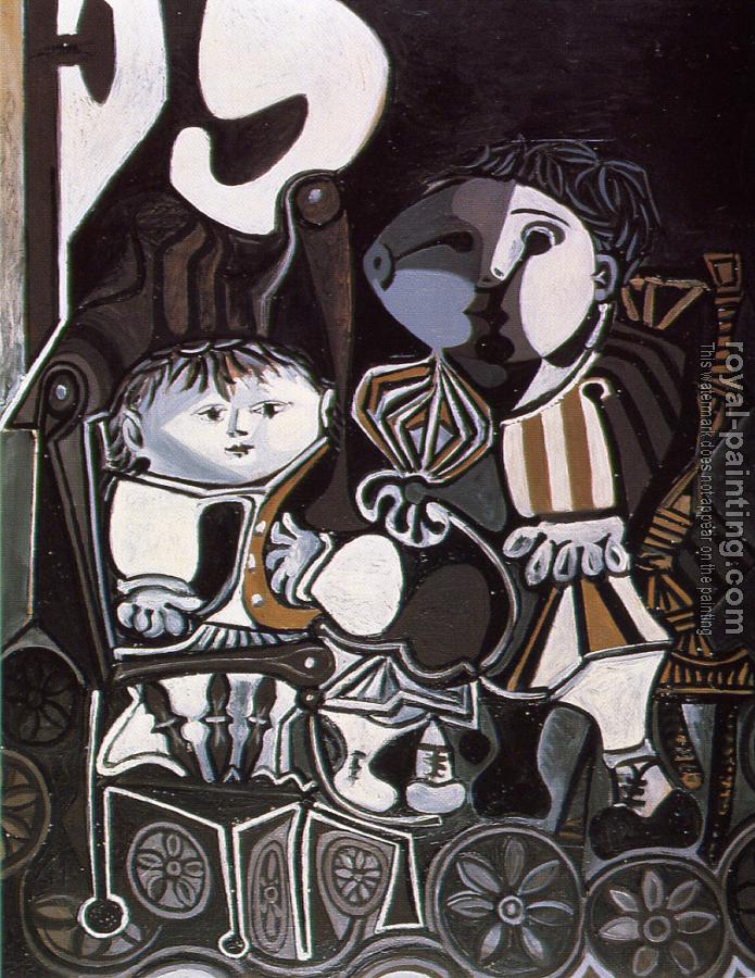 Pablo Picasso : claude and paloma