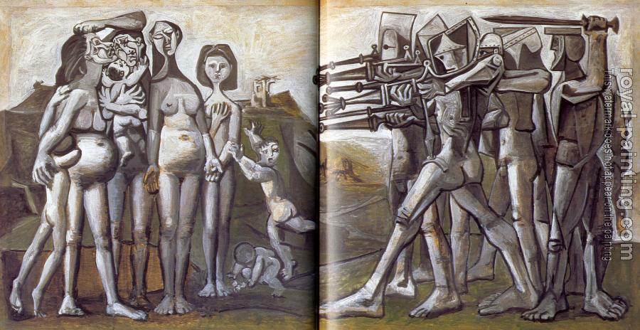 Pablo Picasso : massacres in korea
