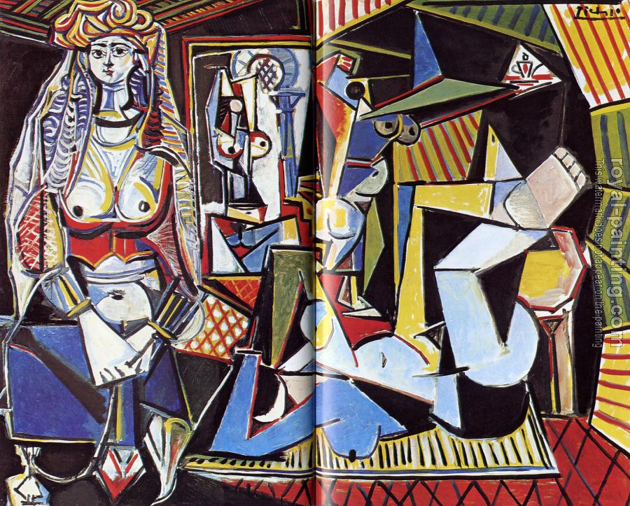 Pablo Picasso : the women of algiers
