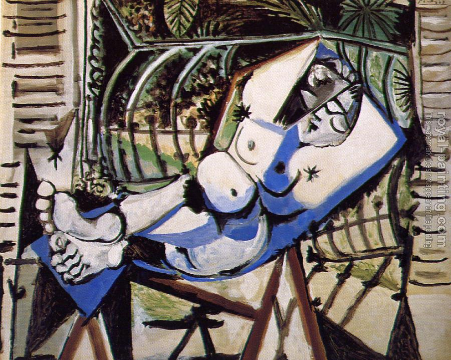 The Lovers In Blue Painting By Ta Thimkaeo