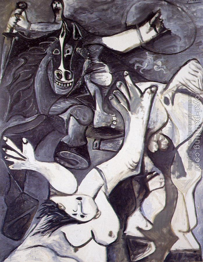 Pablo Picasso : the abduction of the sabine women