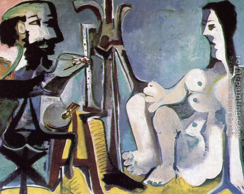 Pablo Picasso : the painter and his model IV