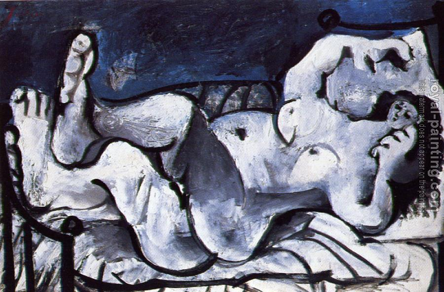 Pablo Picasso : reclining nude III