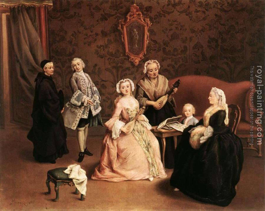 Pietro Longhi : The Little Concert