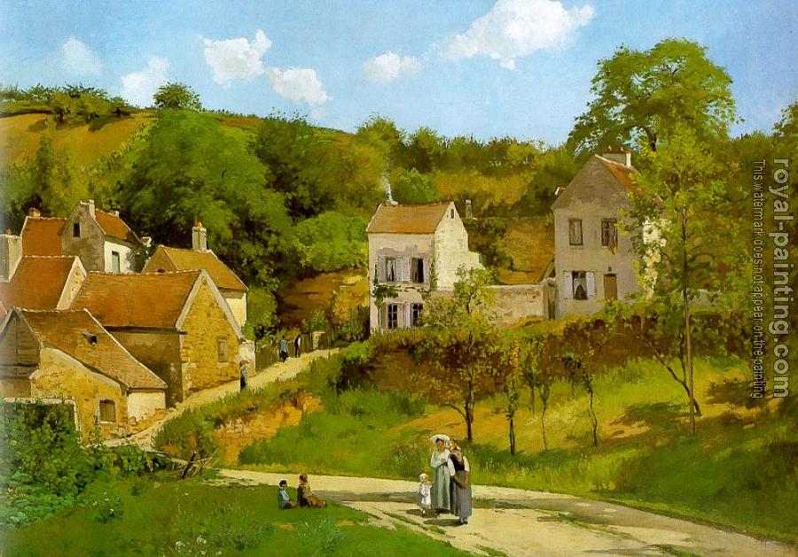 Camille Pissarro : The Hermitage at Pontoise