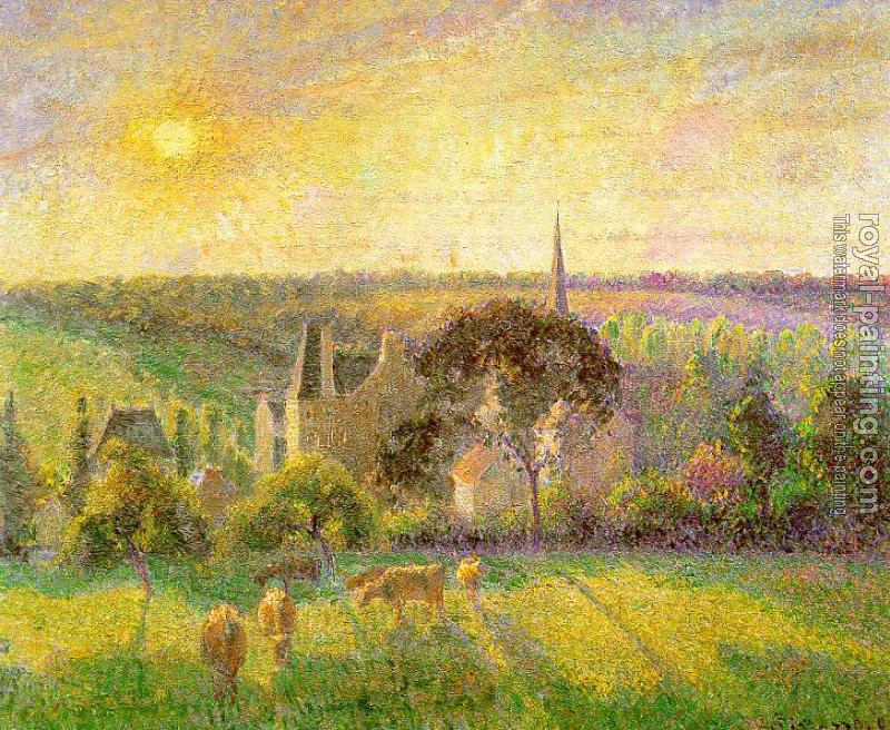 Camille Pissarro : Countryside and  Eragny Church and Farm