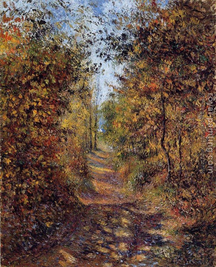 Camille Pissarro : A Path in the Woods, Pontoise