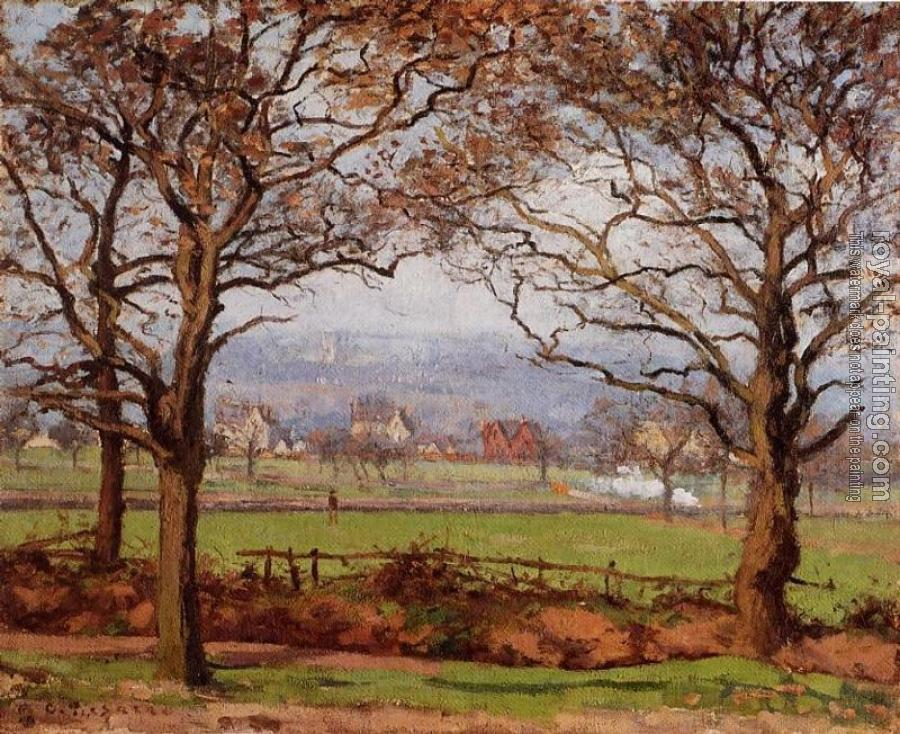 Camille Pissarro : Near Sydenham Hill, Looking towards Lower Norwood