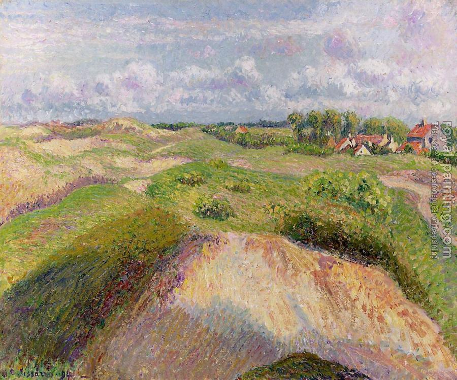 Camille Pissarro : The Dunes at Knocke, Belgium