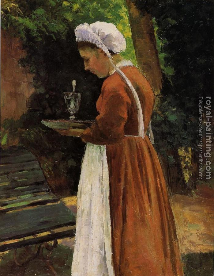 Camille Pissarro : The Maidservant