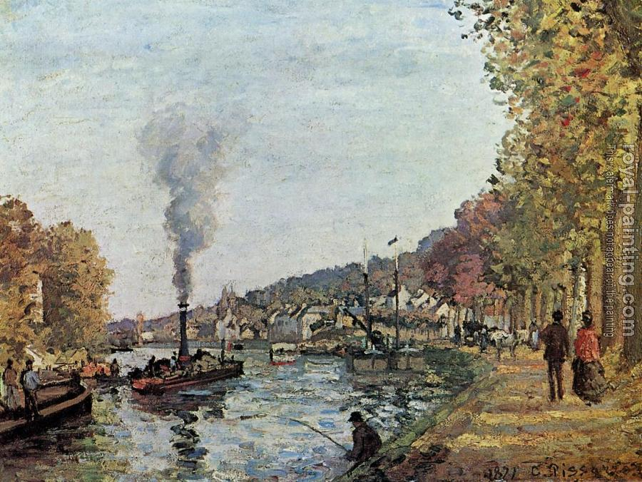 Camille Pissarro : The Seine at Marly