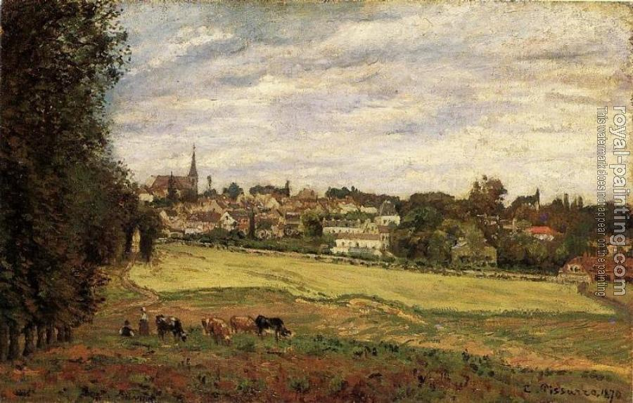 Camille Pissarro : View of Marly-le-Roi