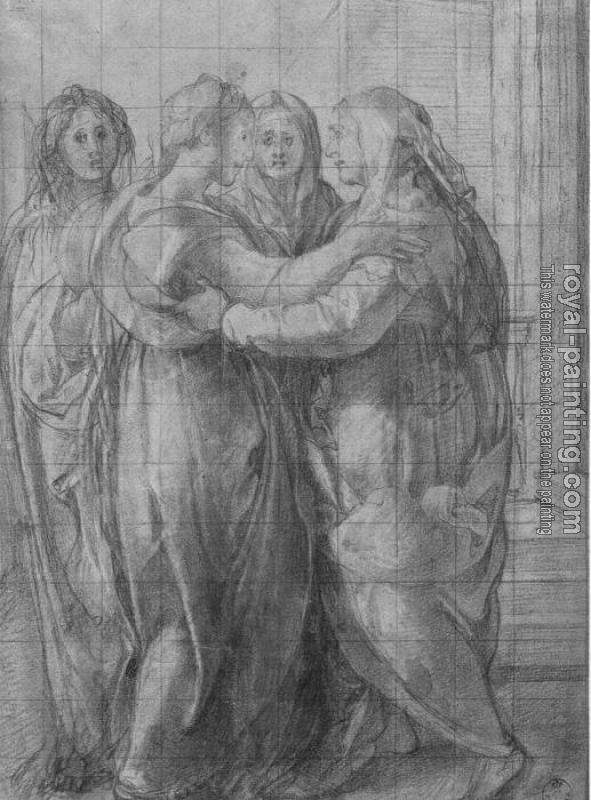 Jacopo Da Pontormo : Study for The Visitation