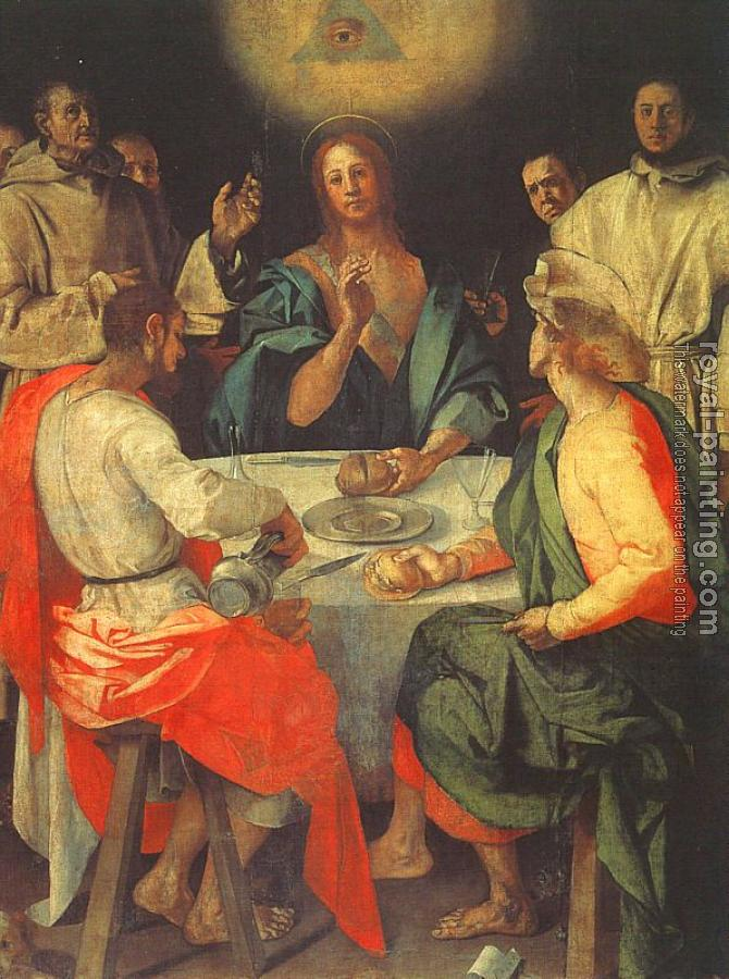 Jacopo Da Pontormo : The Meal in Emmaus