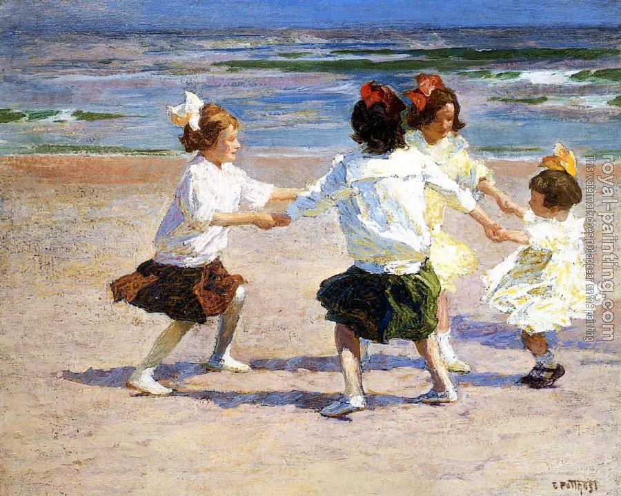Edward Henry Potthast : Ring around the Rosy