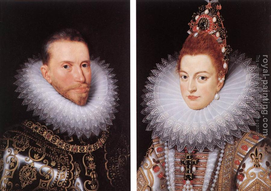 Frans The Younger Pourbus : Archdukes Albert and Isabella