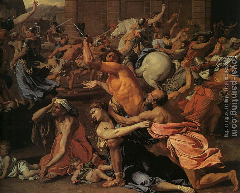 Nicolas Poussin : The Rape of the Sabine Women