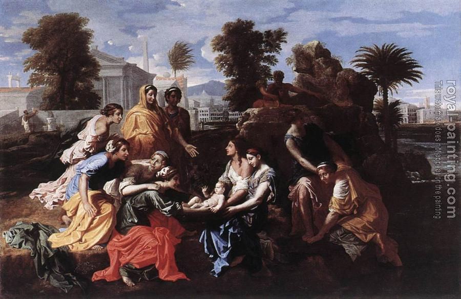 Nicolas Poussin : The Finding of Moses