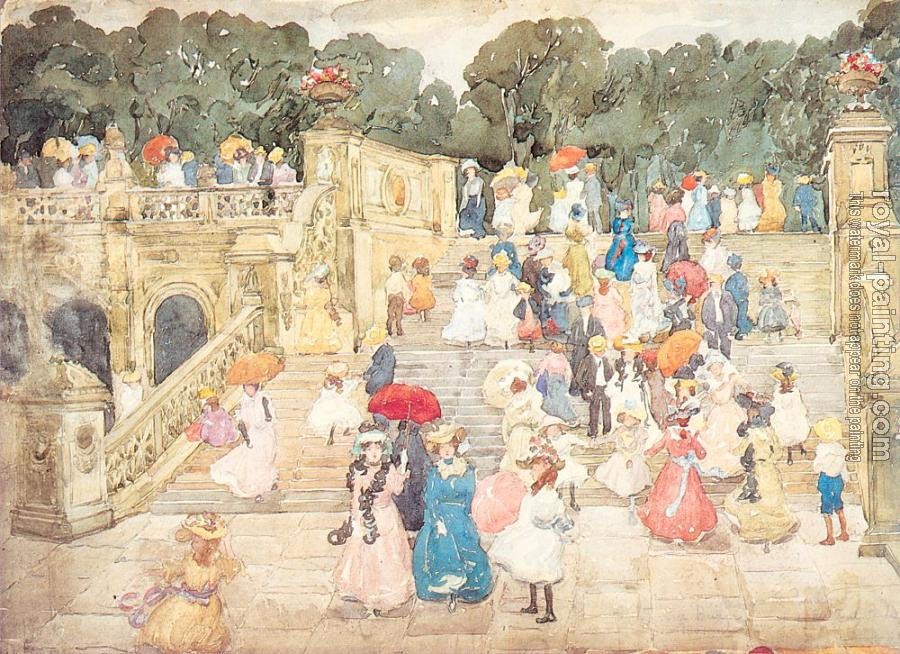 Maurice Brazil Prendergast : The Mall, Central Park