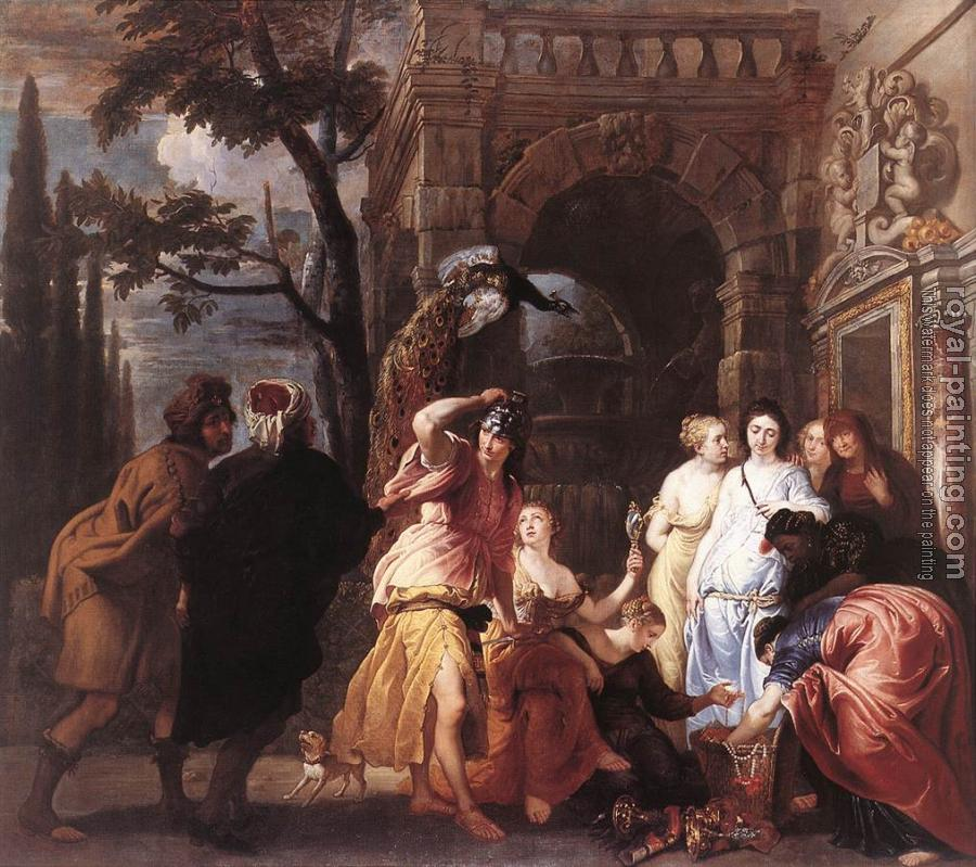 Erasmus Quellin : Achilles among the Daughters of Lycomedes