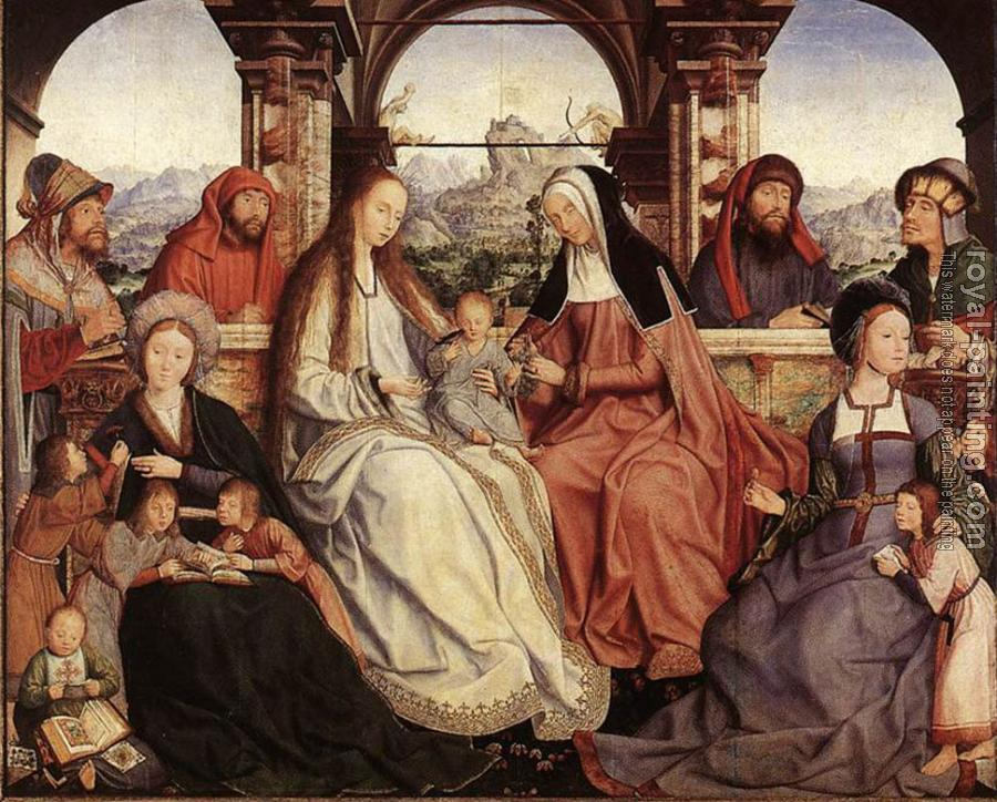 Quentin Massys : St Anne Altarpiece central panel